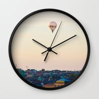 stockholm Wall Clocks featuring Stockholm by DAMION LAWRENCE