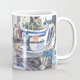 Barriers Can Be Broken Vector Coffee Mug