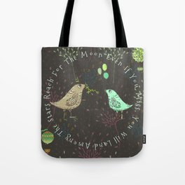 Reach For The Moon - Bagaceous Tote Bag