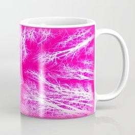 Takoma Trees Pink & White Coffee Mug
