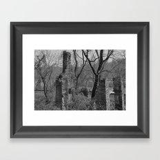 Rural Ruins Framed Art Print