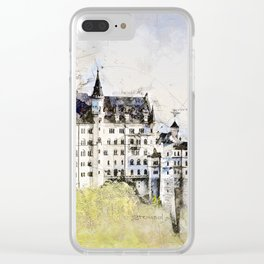 Neuschwanstein Castle, Bavaria Germany Clear iPhone Case