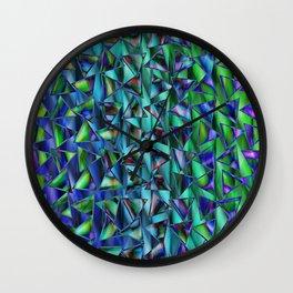 Pattern multicolored 13 Wall Clock