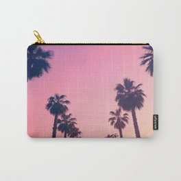 Pink Sunset at the Beach Carry-All Pouch