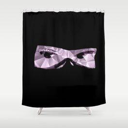 Eyesometric Ninja Shower Curtain