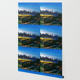 New York City as viewed from the Beautiful Brooklyn Heights Wallpaper