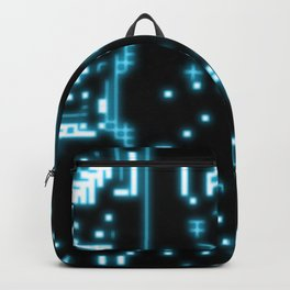 Neon circuits Backpack