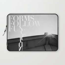 from follow fun Laptop Sleeve
