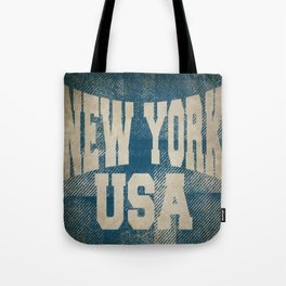 new york Tote Bag