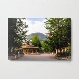 Whistler Village - British Columbia, Canada Metal Print