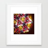 kaleidoscope Framed Art Prints featuring Kaleidoscope by ADH Graphic Design