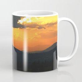Mountain sunse Coffee Mug