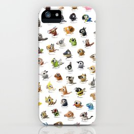 Marathon Animals iPhone Case