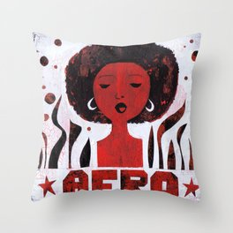 *AFRO* Throw Pillow