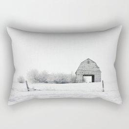 The White Barn Rectangular Pillow