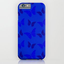 Butterblues iPhone Case