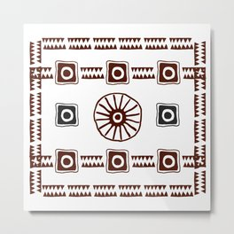 Ancestral Ornament 1A Metal Print