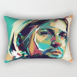 Kurt Pop Art Cobain Rectangular Pillow