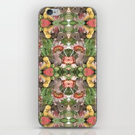 Bunny Cockatoo Kaleidoscope iPhone Skin