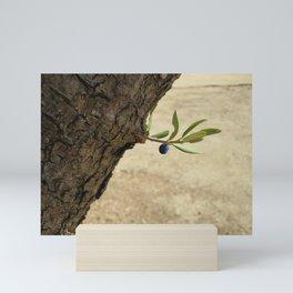 Olive branch Mini Art Print