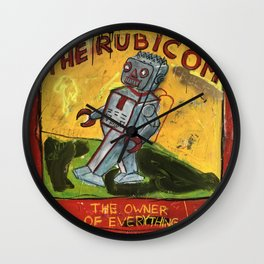 The Rubicom Wall Clock