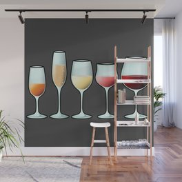All the wine Wall Mural