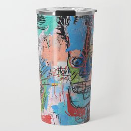 Close your eyes and breathe deeply Travel Mug