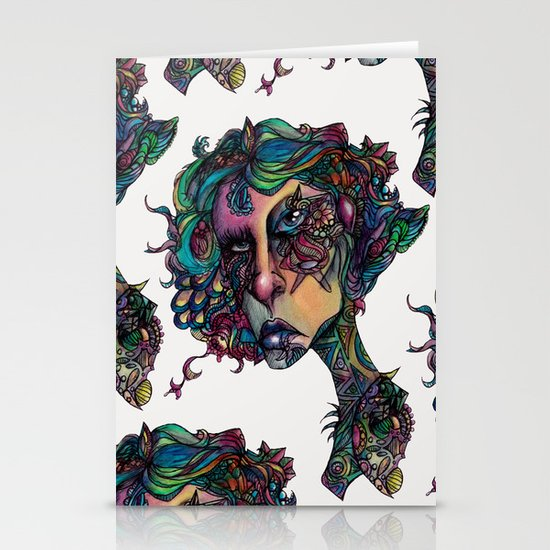 All in The Colors Stationery Cards