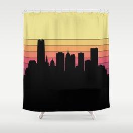 Oklahoma City Skyline Shower Curtain