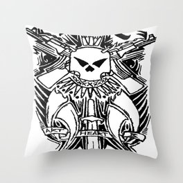 STL Savage Throw Pillow