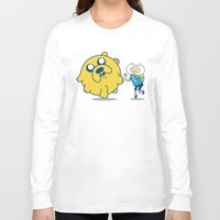 katamari Long Sleeve T-shirts featuring Katamari Time! by MeleeNinja