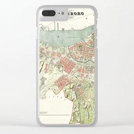 Gothenburg 1888 Clear iPhone Case