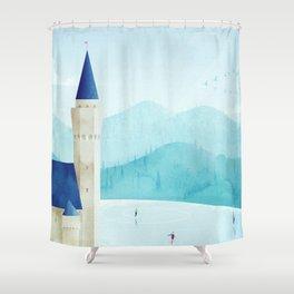 Bavaria Shower Curtain