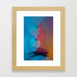 Rainbow Pleasures Framed Art Print