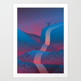 Hello Art Print