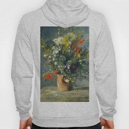 Auguste Renoir - Flowers in a vase, 1866 Hoody