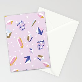 Magic and Crystals Stationery Cards