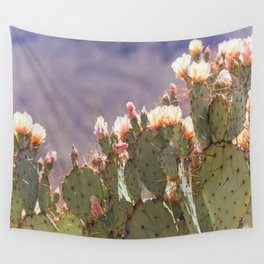 Prickly Pear Blooms I Wall Tapestry
