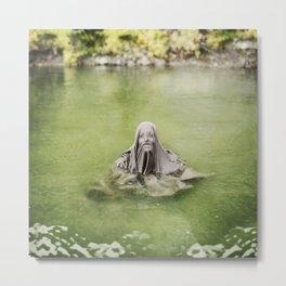 Guardian of the Lake Metal Print