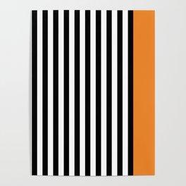 Liquorice allsorts, orange Poster