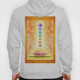Sacred Lotus - The Seven Chakras .I Hoody