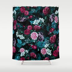 Night Garden VII Shower Curtain