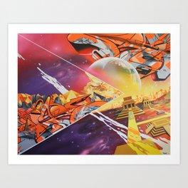 New Horizons Art Print