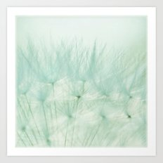 dreams of green Art Print