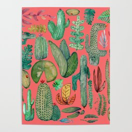 Summer Nature in Pink Poster
