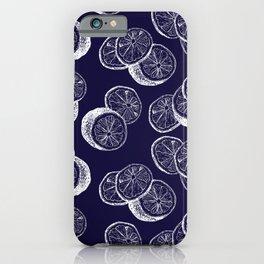 Indigo Citrus iPhone Case
