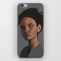dylan iPhone & iPod Skins featuring Dylan by Notwhatnot