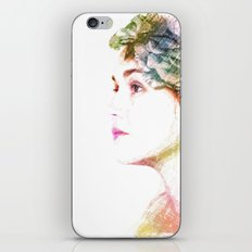 The Colors Of Her Heart iPhone & iPod Skin