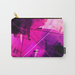 Rebellious Reflections - Geometric Abstract Art Carry-All Pouch