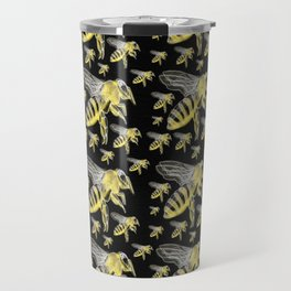Bee print 3 Travel Mug